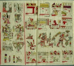 Codex Vienna detail wtih staff