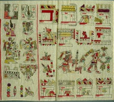 Codex Vienna detail wtih staff
